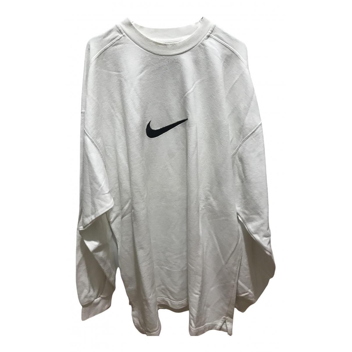 Nike \N White Cotton Knitwear & Sweatshirts for Men XXL International