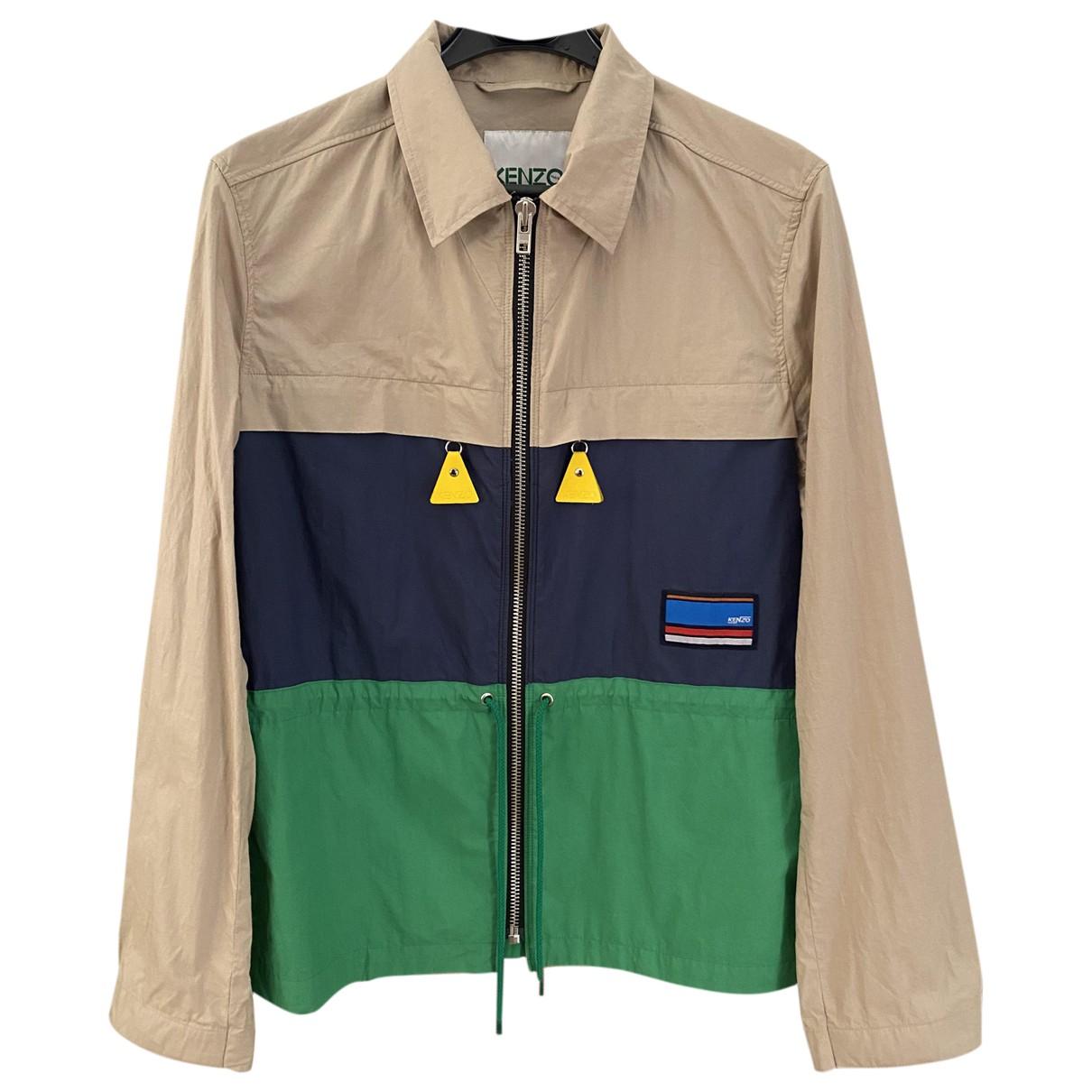 Kenzo - Vestes.Blousons   pour homme en coton - multicolore