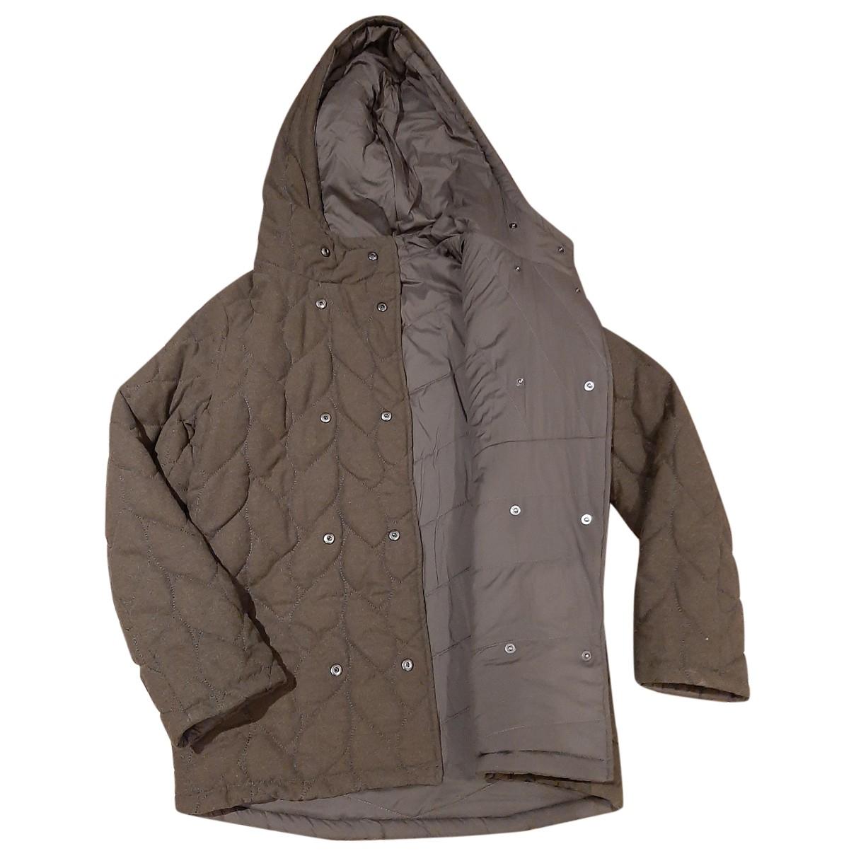 Maje \N Khaki coat for Women 38 FR