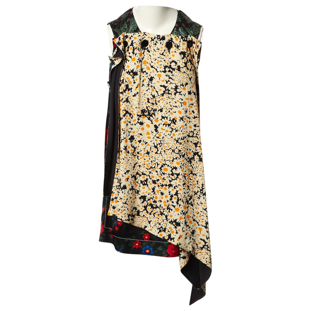 Celine \N Multicolour Silk dress for Women 38 FR