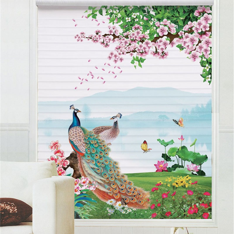 3D Personal Picture Customization Creative Roller Shades
