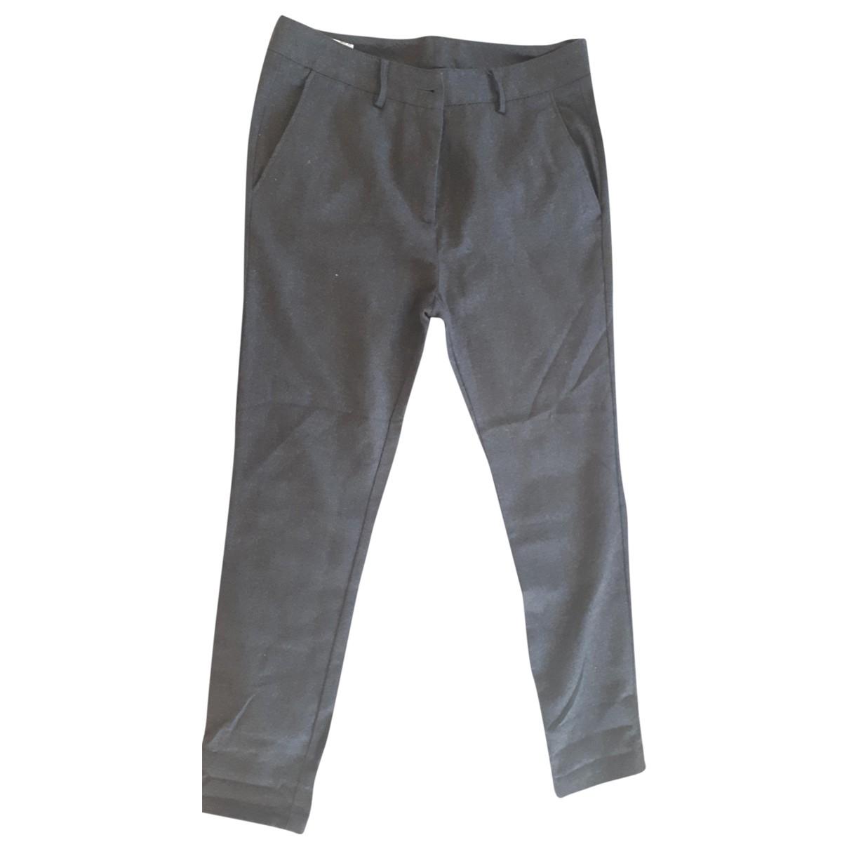 Pantalon recto de Lana Mauro Grifoni