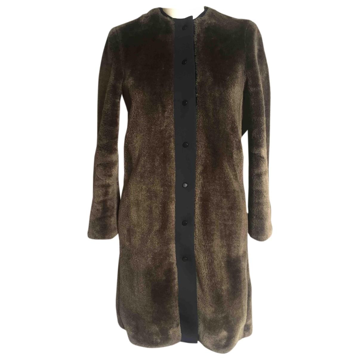 Bimba Y Lola - Manteau   pour femme en fourrure synthetique - marron