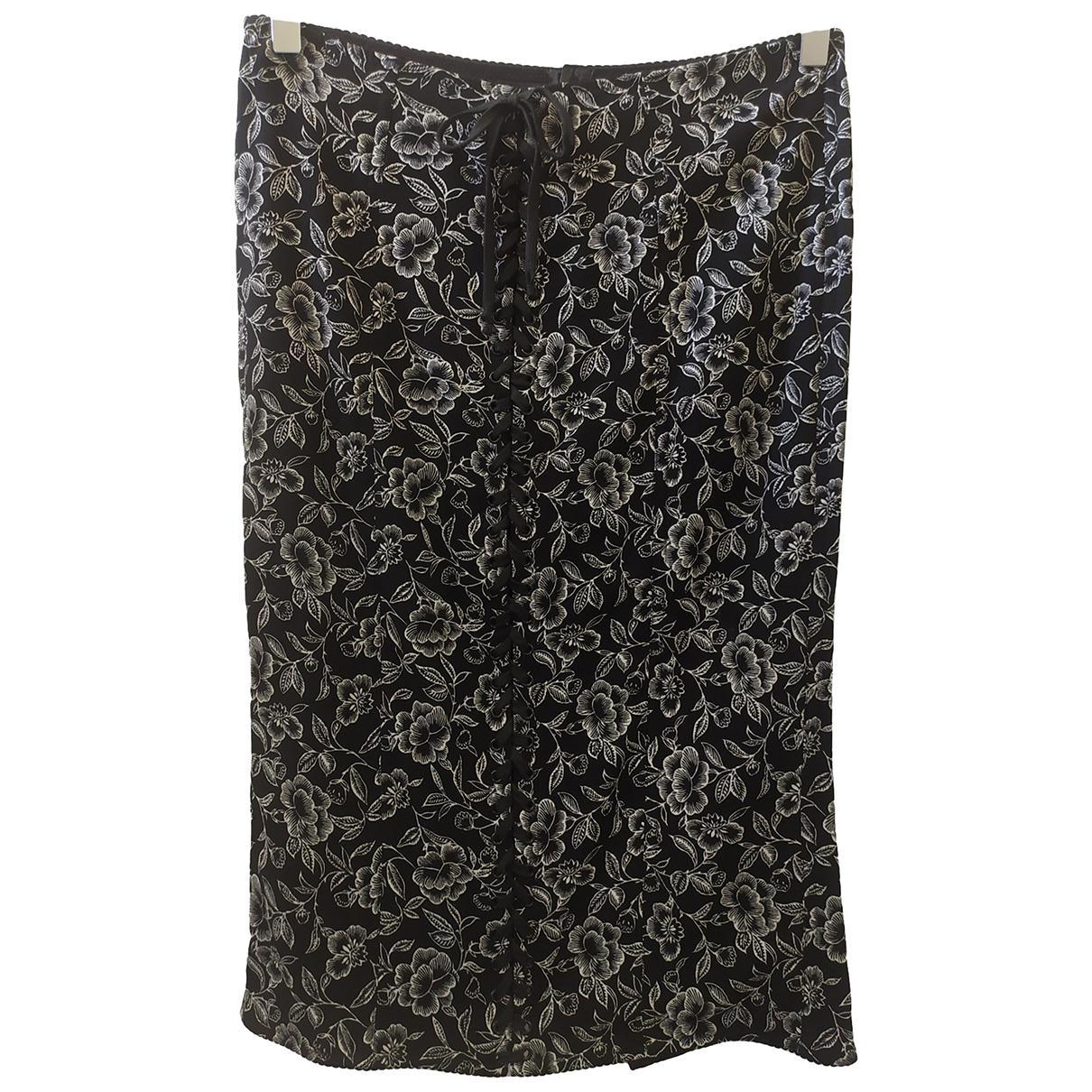 Falda midi de Seda Dolce & Gabbana