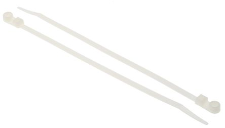 HellermannTyton , T50MR Series Natural Nylon Cable Tie, 215mm x 4.7 mm