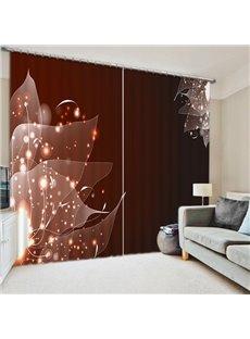 Intelligent Design Vein Print 3D Blackout Curtain