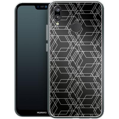Huawei P20 Lite Silikon Handyhuelle - Disorient von caseable Designs