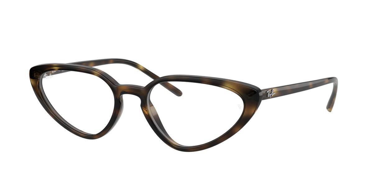 Ray-Ban RX7188 2012 Women's Glasses Tortoise Size 52 - HSA/FSA Insurance - Blue Light Block Available