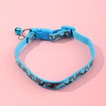 Hund Halsband mit Camo Muster