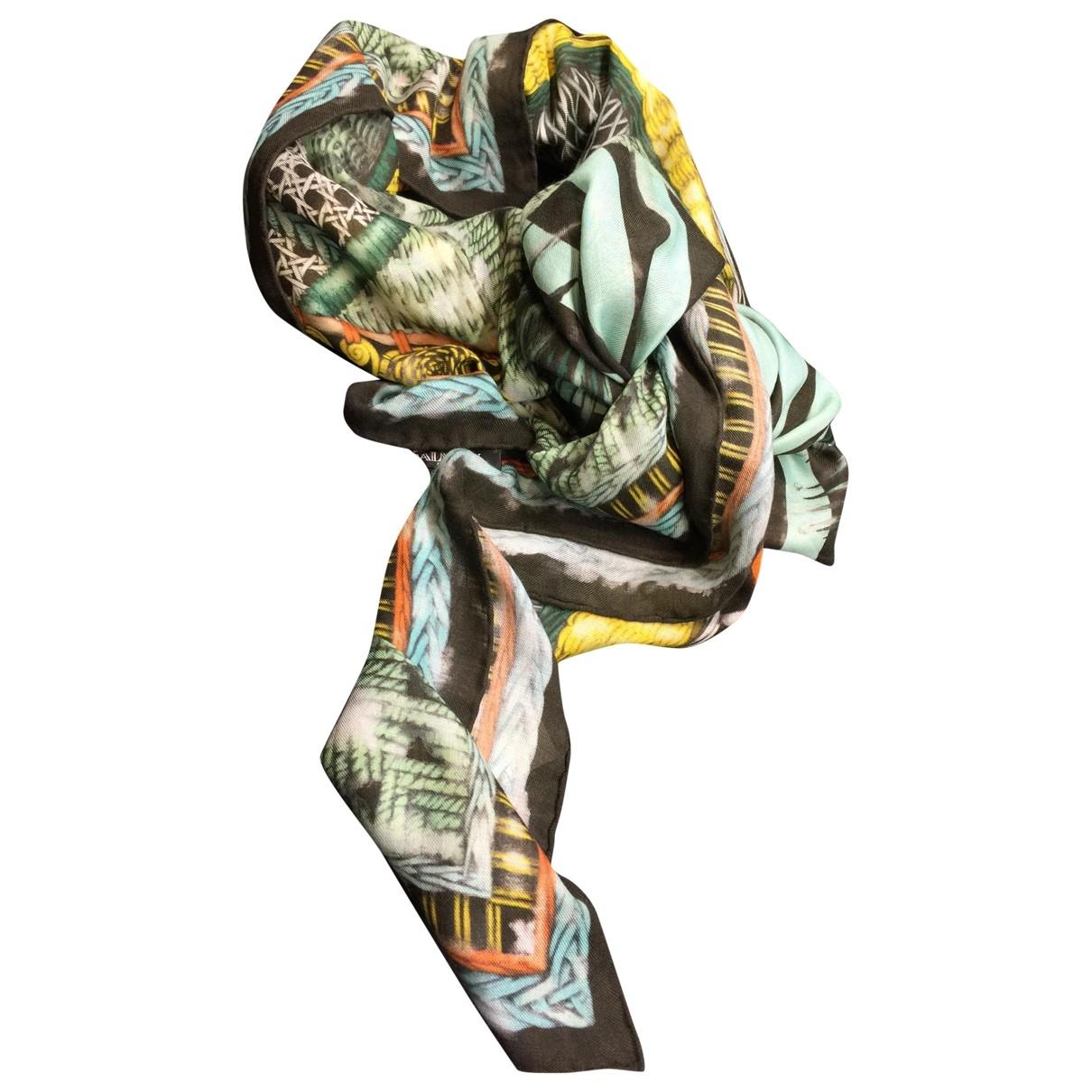 Balmain \N Multicolour Cashmere scarf for Women \N