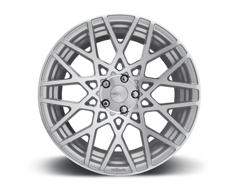 Rotiform R110188579+35 BLQ Silver & Machined Cast Monoblock Wheel 18x8.5 5x100 35mm