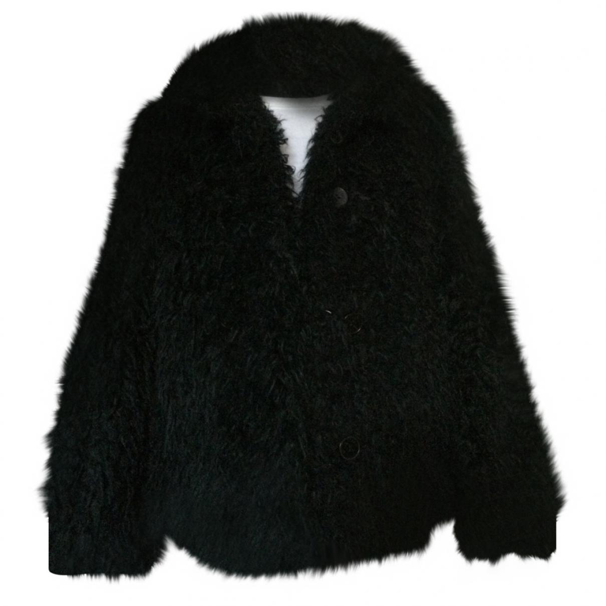 Zadig & Voltaire \N Black Faux fur coat for Women 36 FR