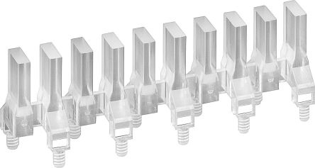 Mentor GmbH 1274.1030 MENTOR, PCB Mounted 10-Way LED Light Pipe, Clear Rectangle Lens (10)
