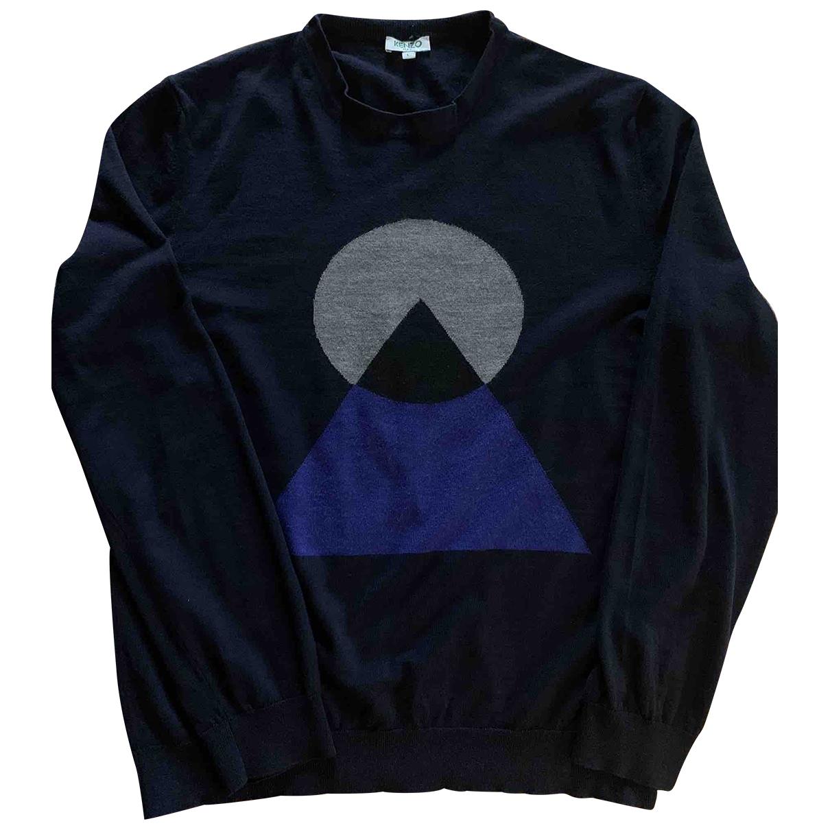 Kenzo \N Navy Wool Knitwear & Sweatshirts for Men L International
