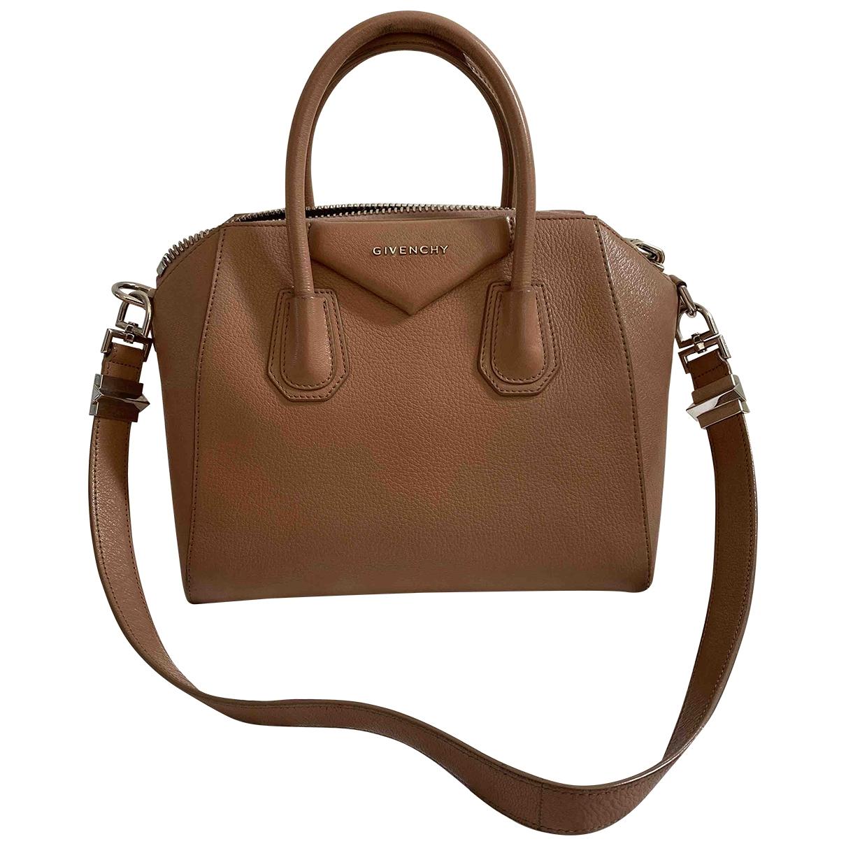 Givenchy Antigona Camel Leather handbag for Women \N