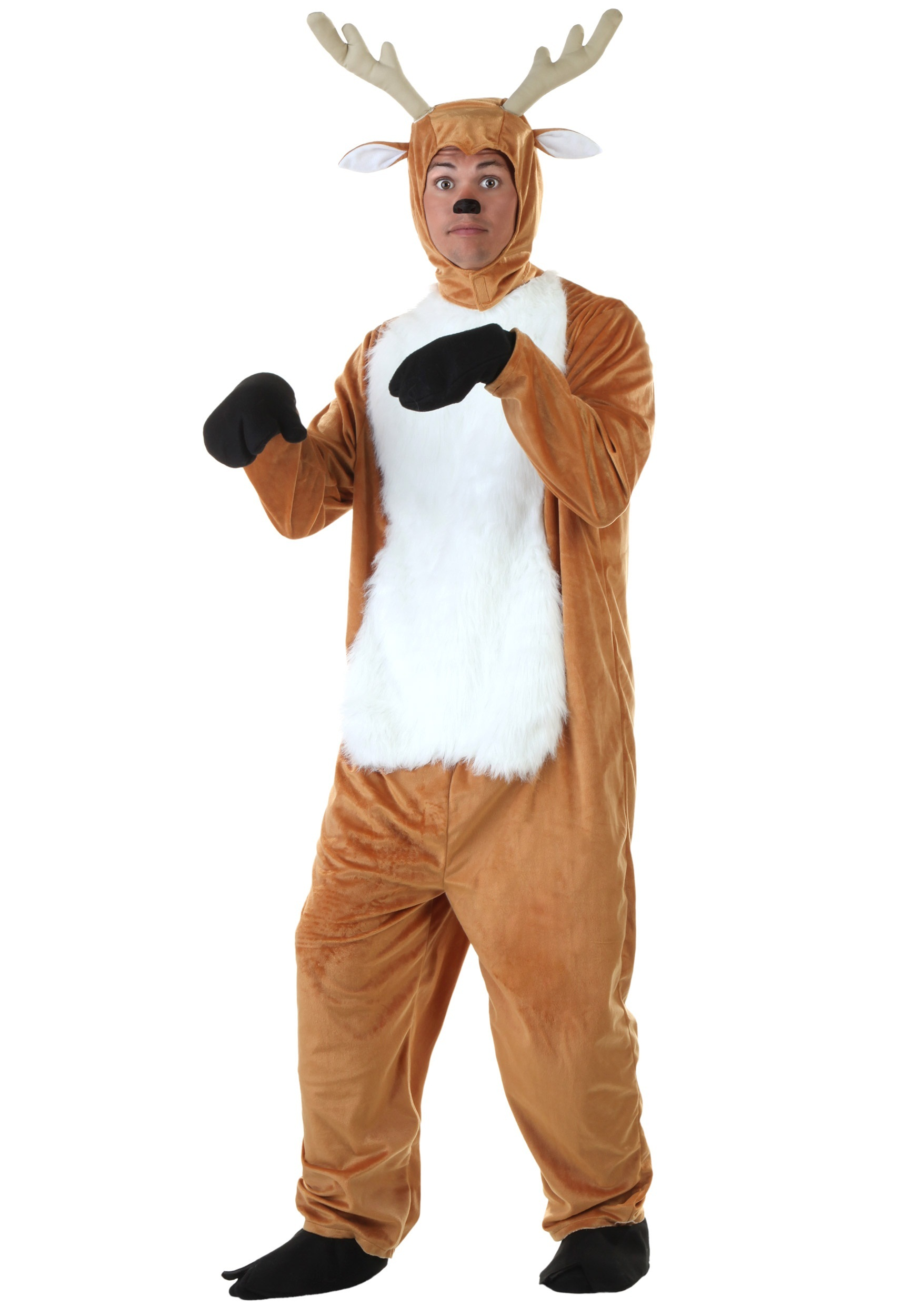 Plus Size Deer Costume for Adults 2X 3X 4X 5X