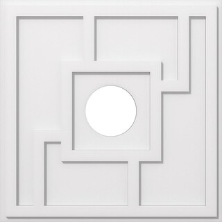 Knox Architectural Grade PVC Contemporary Ceiling Medallion (26