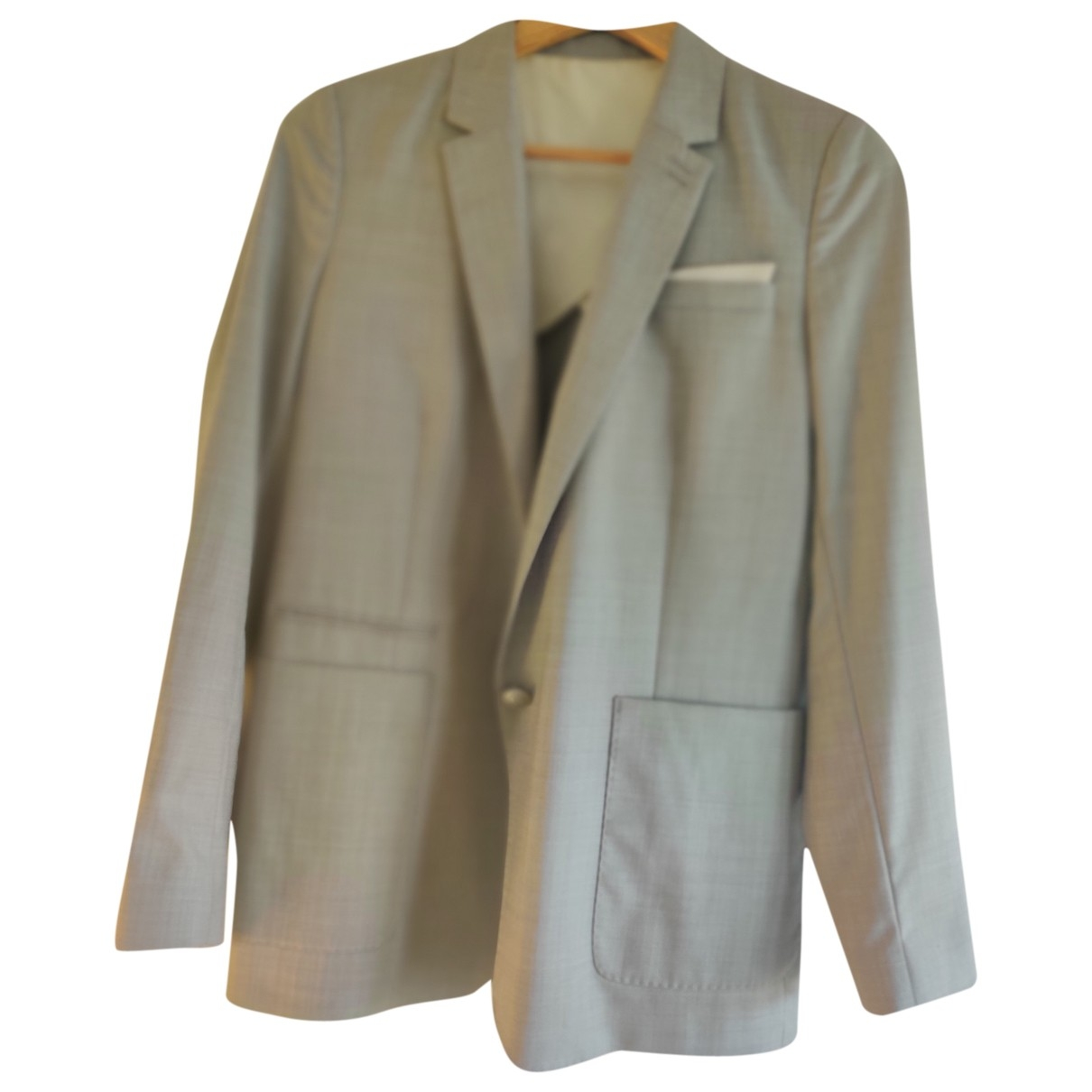 The Kooples \N Grey Wool jacket for Women 38 FR