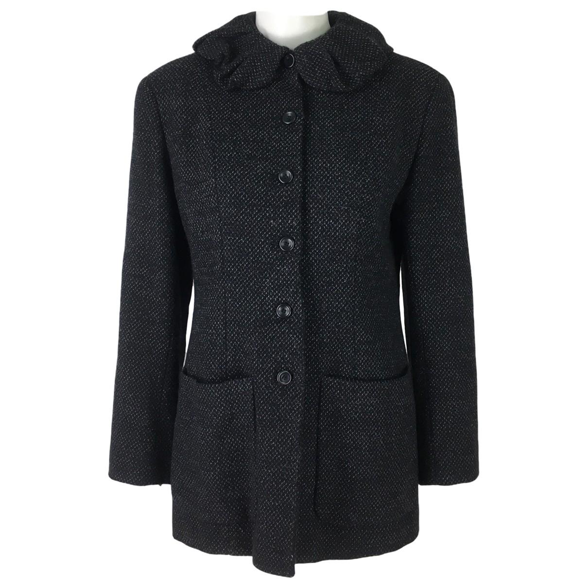 Kenzo - Veste   pour femme en laine - gris
