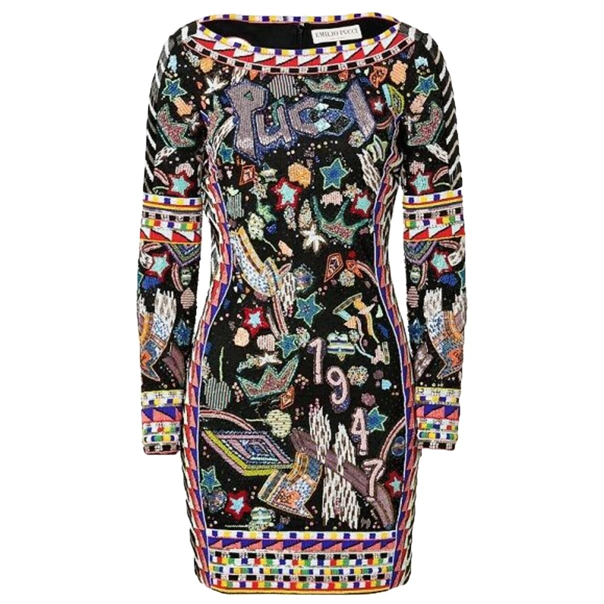 Emilio Pucci \N Multicolour dress for Women 40 IT