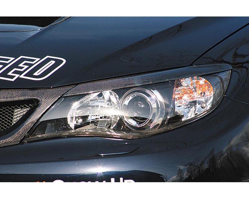 ChargeSpeed CS979EBC Carbon Eyelids Subaru WRX STI 5dr GRB 08-12