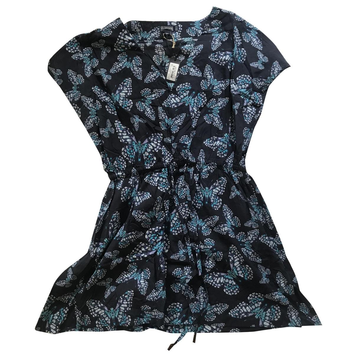 Vilebrequin - Robe   pour femme en coton - marine