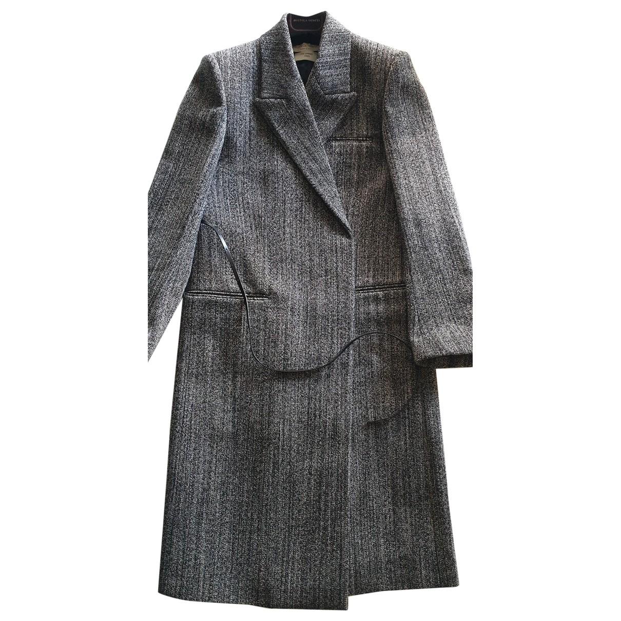 Bottega Veneta \N Black Wool coat for Women 34 FR