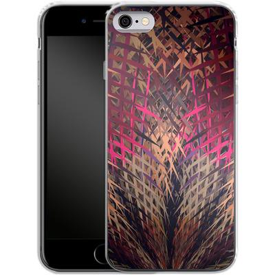 Apple iPhone 6 Silikon Handyhuelle - Grid Explosion von Danny Ivan
