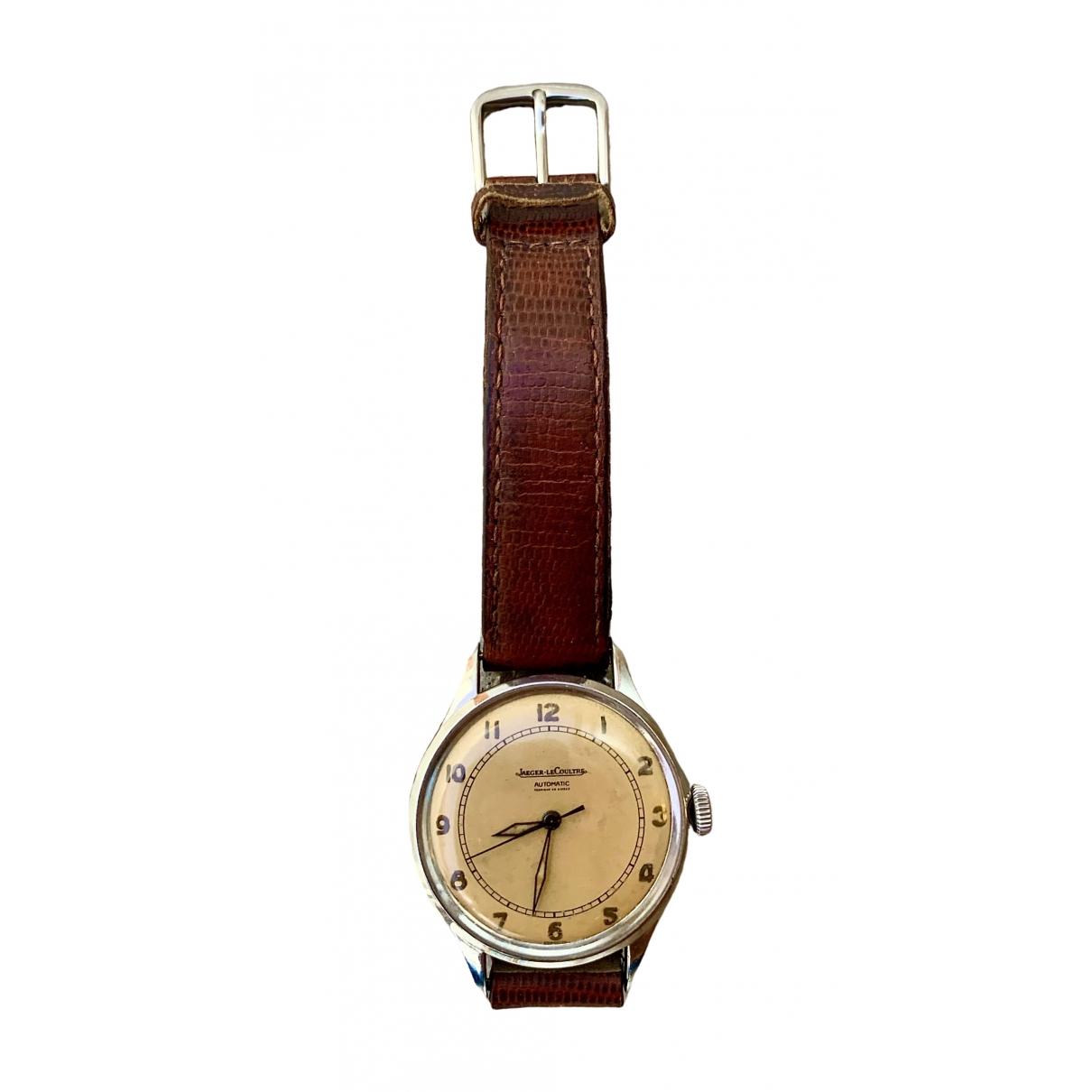Jaeger-lecoultre - Montre Vintage pour homme en acier - beige