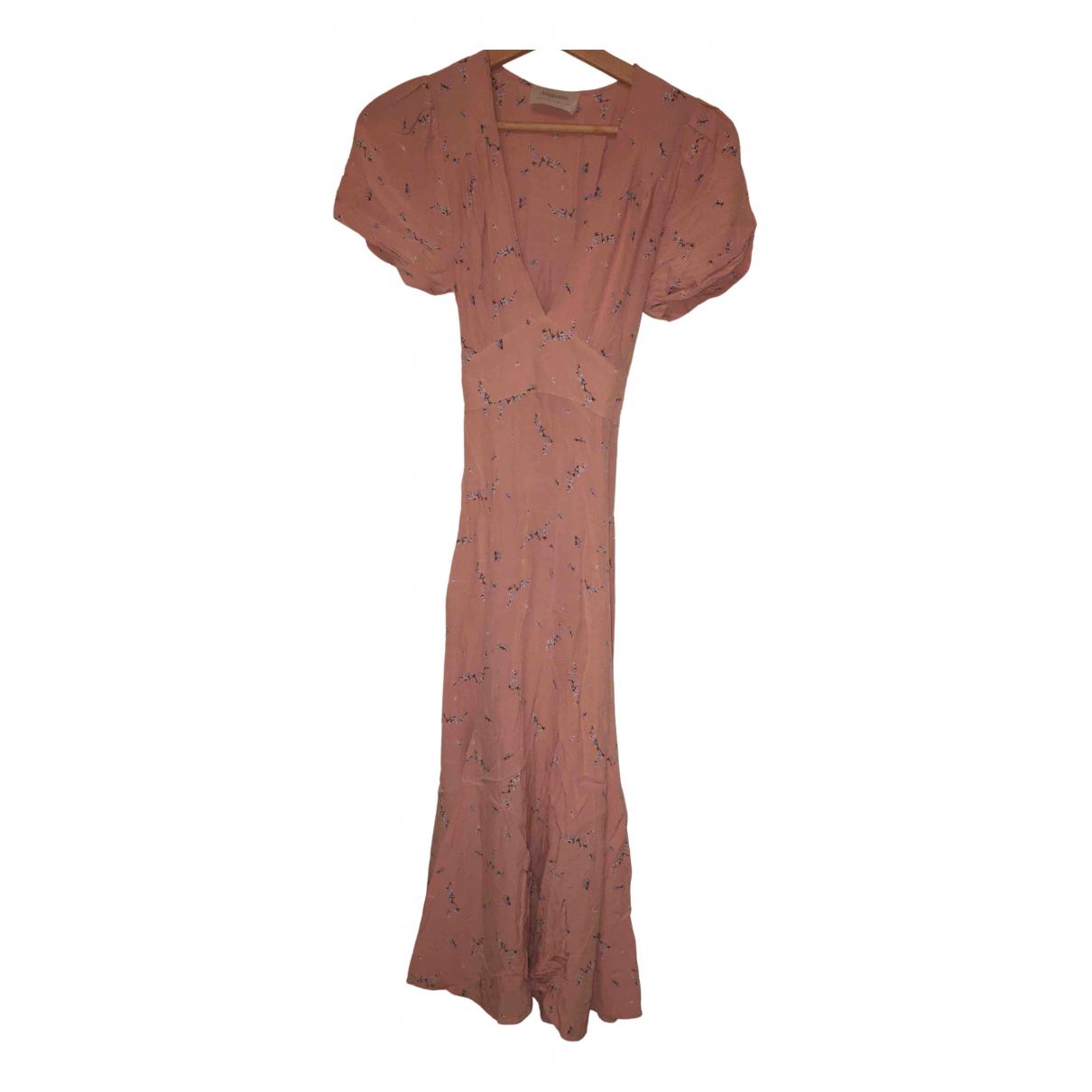 Auguste - Robe   pour femme - rose