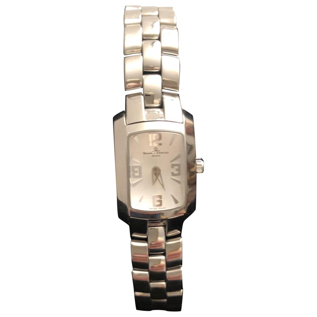 Baume Et Mercier Hampton Lady Uhr in  Silber Stahl