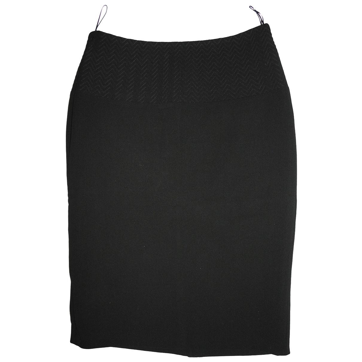 Strenesse - Jupe   pour femme en laine - noir