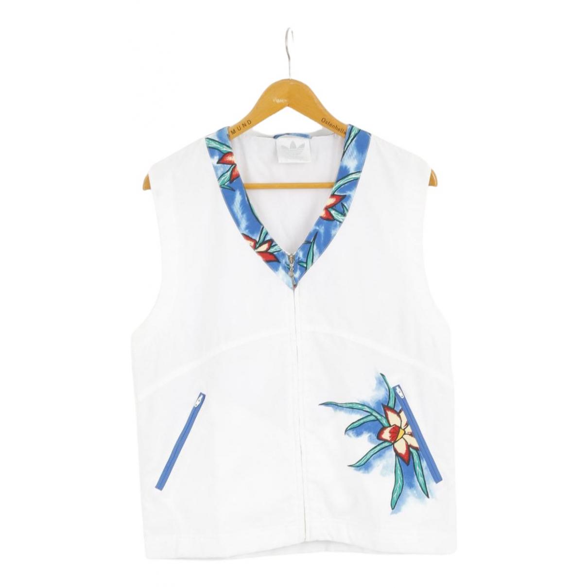 Adidas - Top   pour femme - blanc