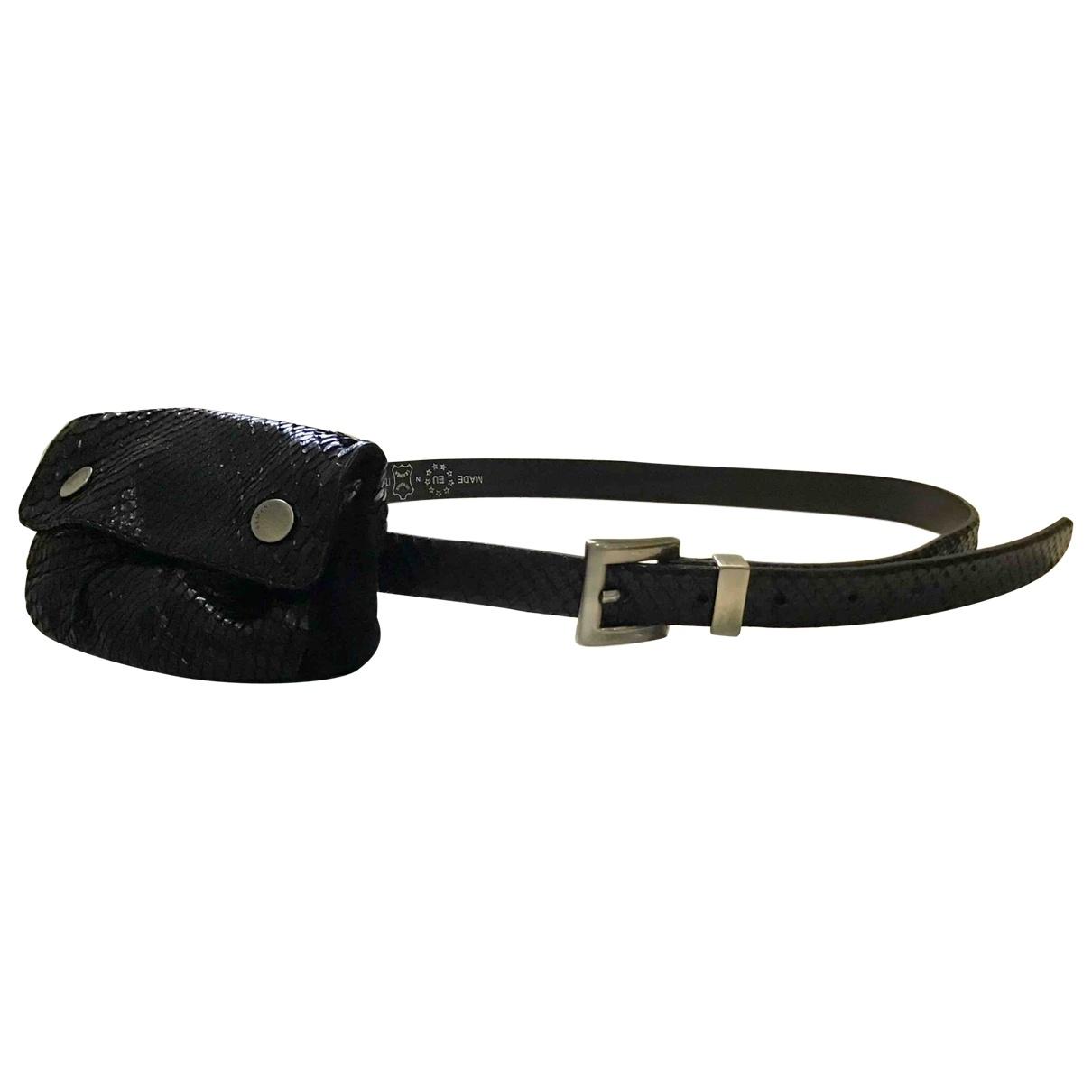 Cinturon de Cueros exoticos Armani Collezioni