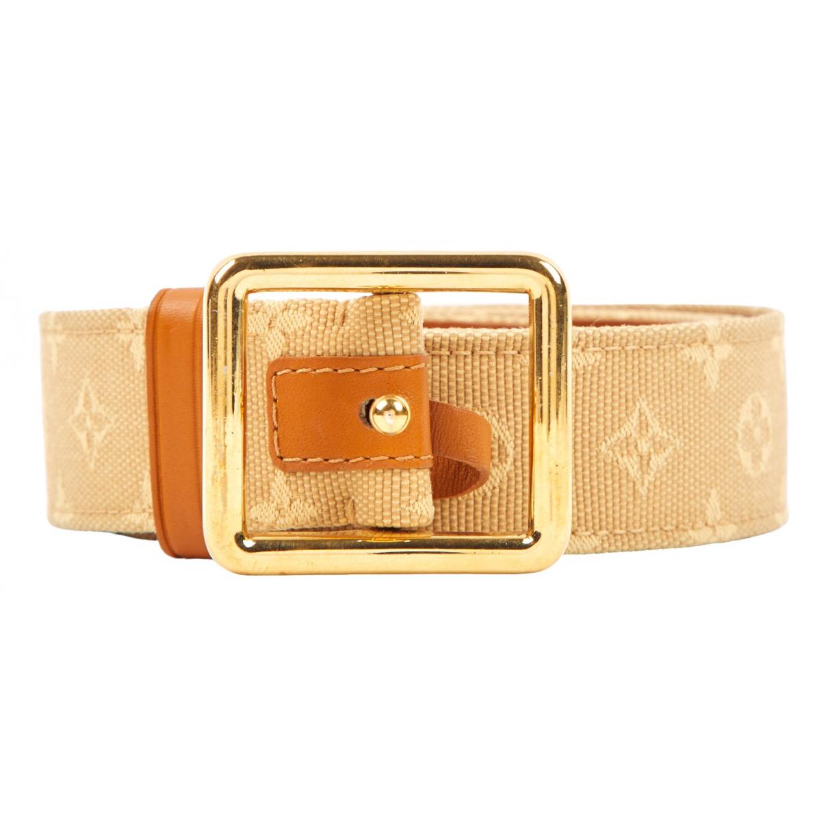 Cinturon de Lona Louis Vuitton