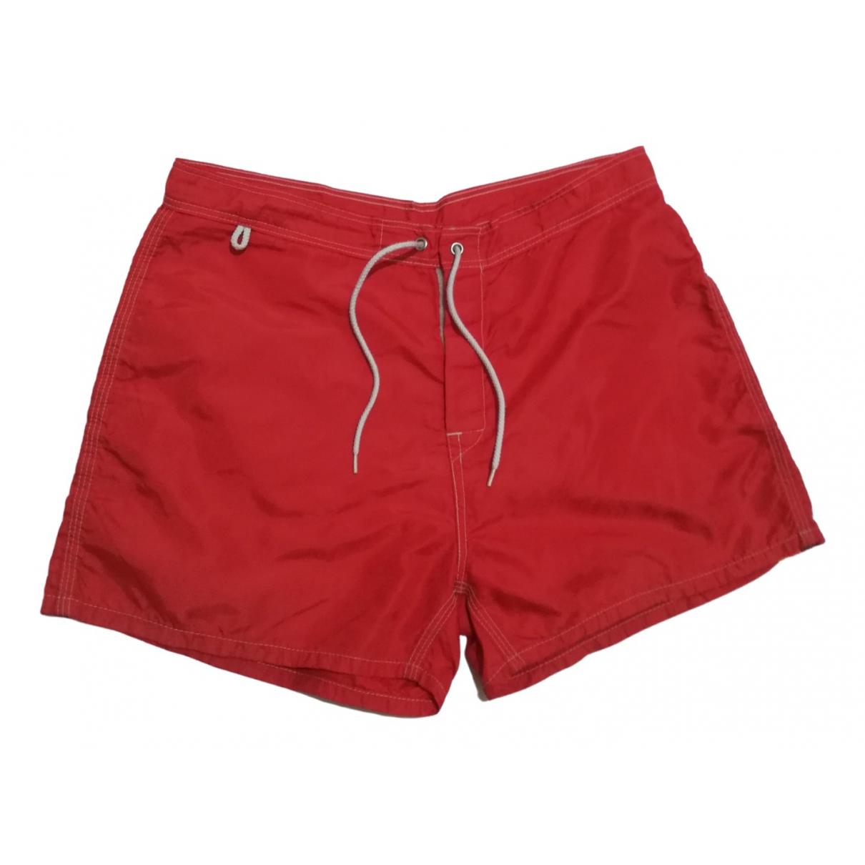Sundek \N Badeanzug in  Rot Polyester