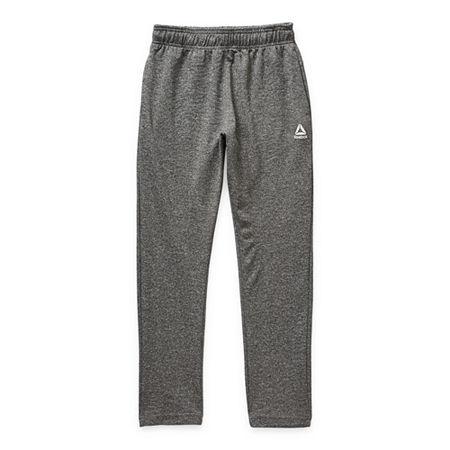 Reebok Big Boys Cuffed Sweatpant, Medium (10-12) , Black
