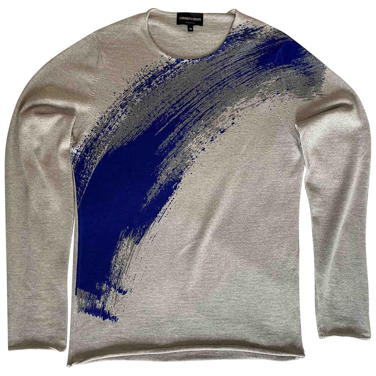 Emporio Armani \N Grey Wool Knitwear & Sweatshirts for Men 46 IT