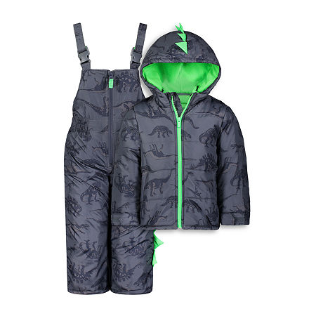 Carter's Baby Boys Heavyweight Animal Snow Suit, 24 Months , Blue