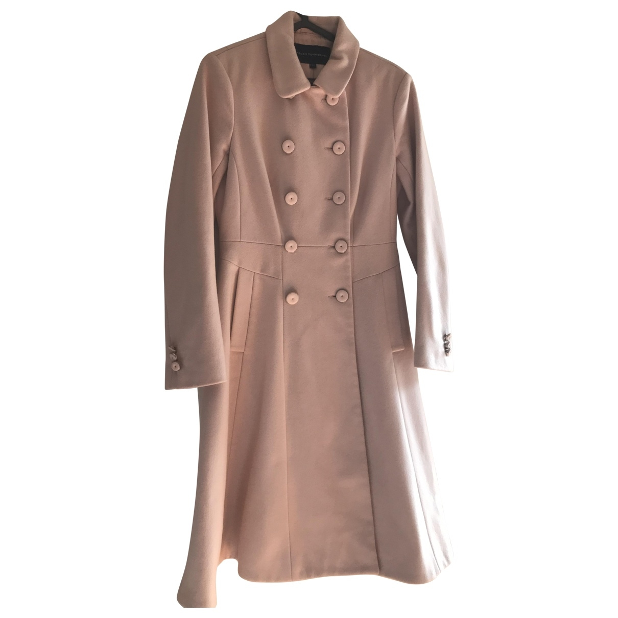 French Connection \N Pink Wool coat for Women 6 UK