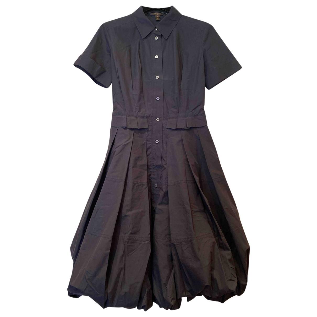 Louis Vuitton - Robe   pour femme en coton - bleu