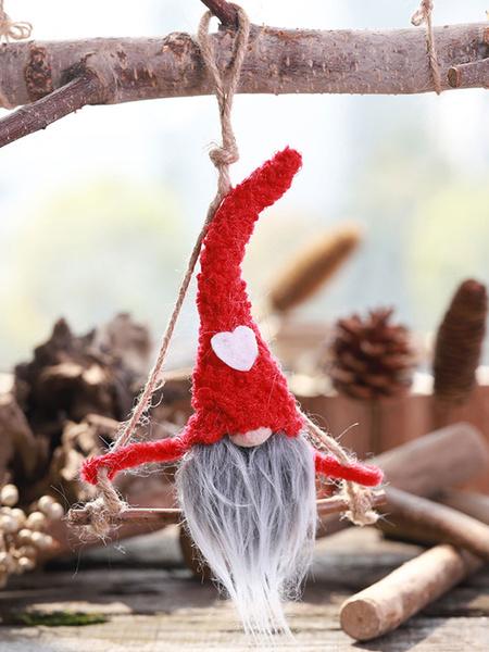 Milanoo Christmas Costume Decorations Doll Xmas Party Ornament