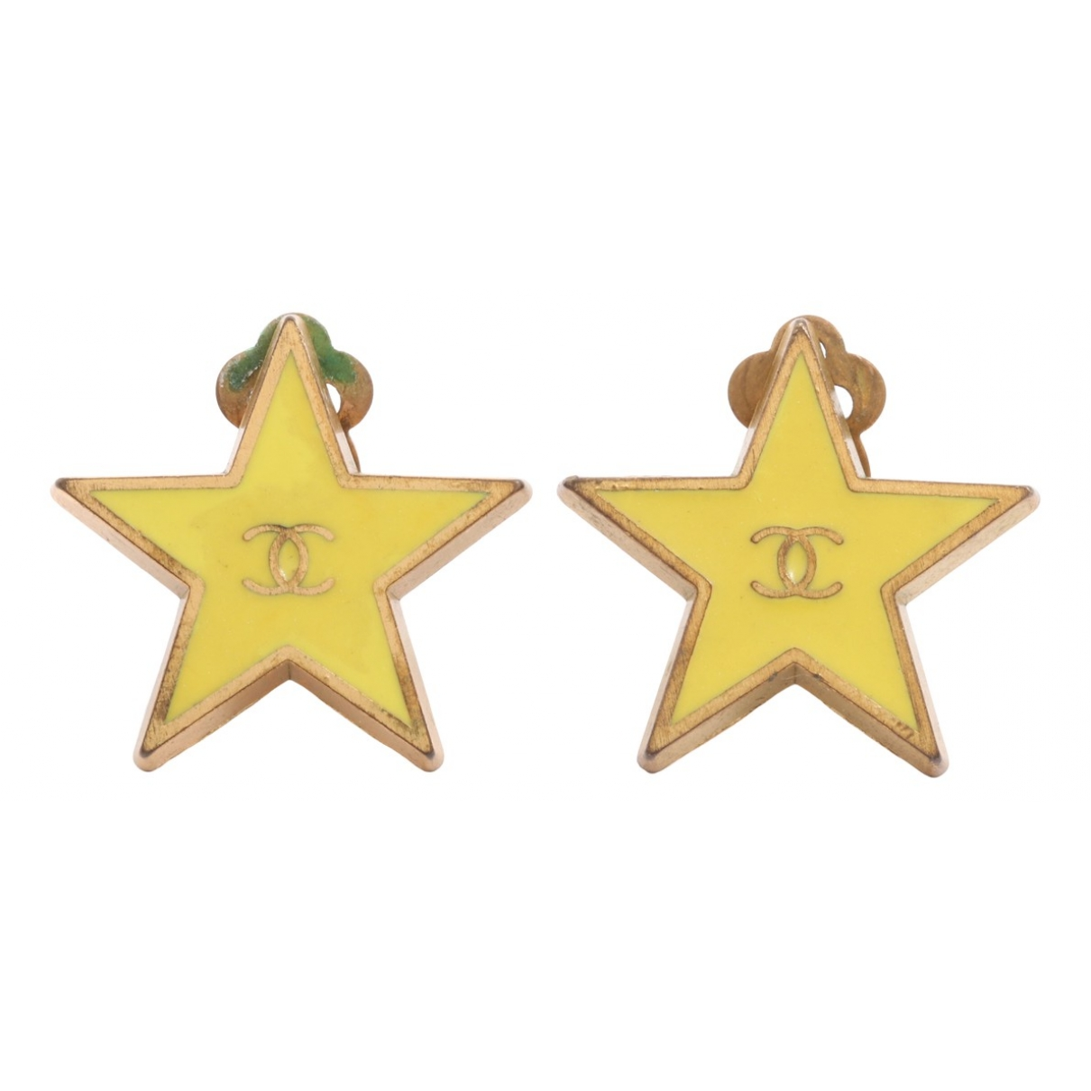 Chanel \N Yellow Gold plated Earrings for Women \N