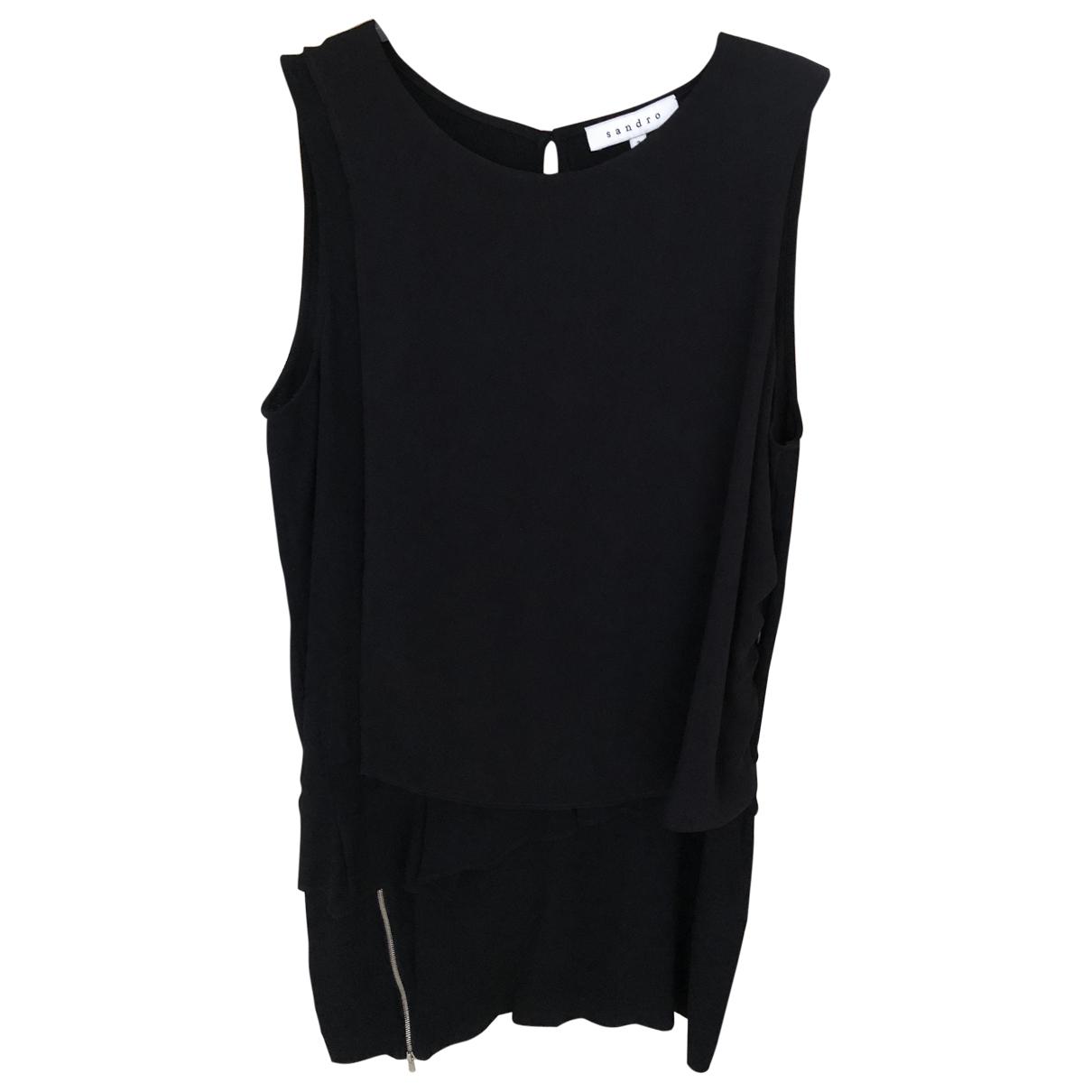 Sandro \N Black dress for Women 3 0-5