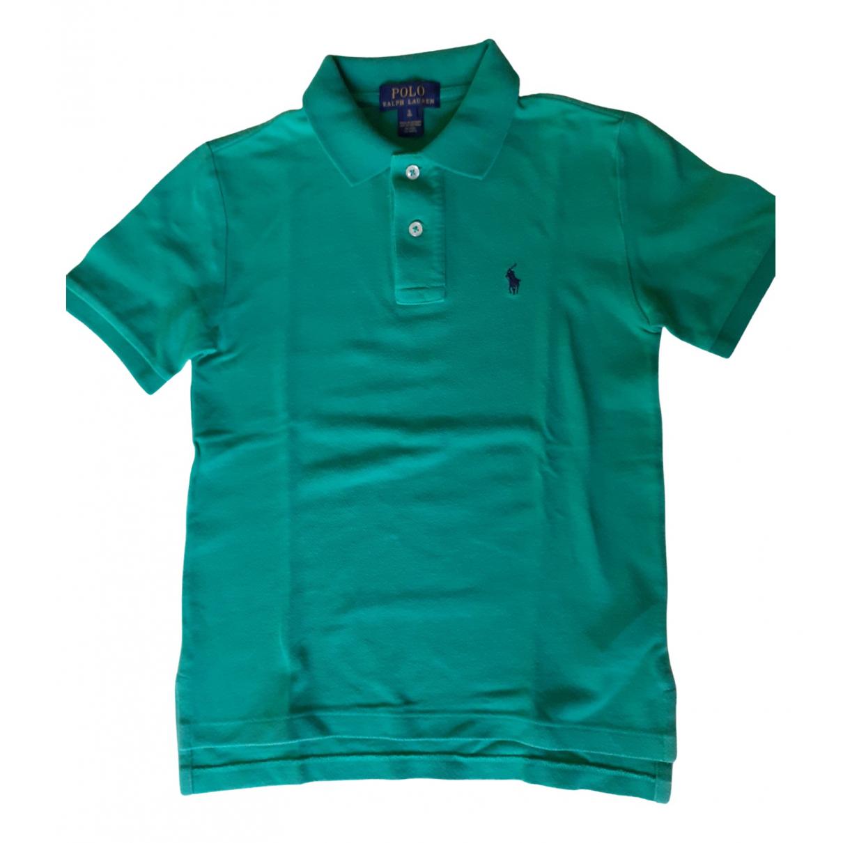 Polo Ralph Lauren - Top   pour enfant en coton - vert