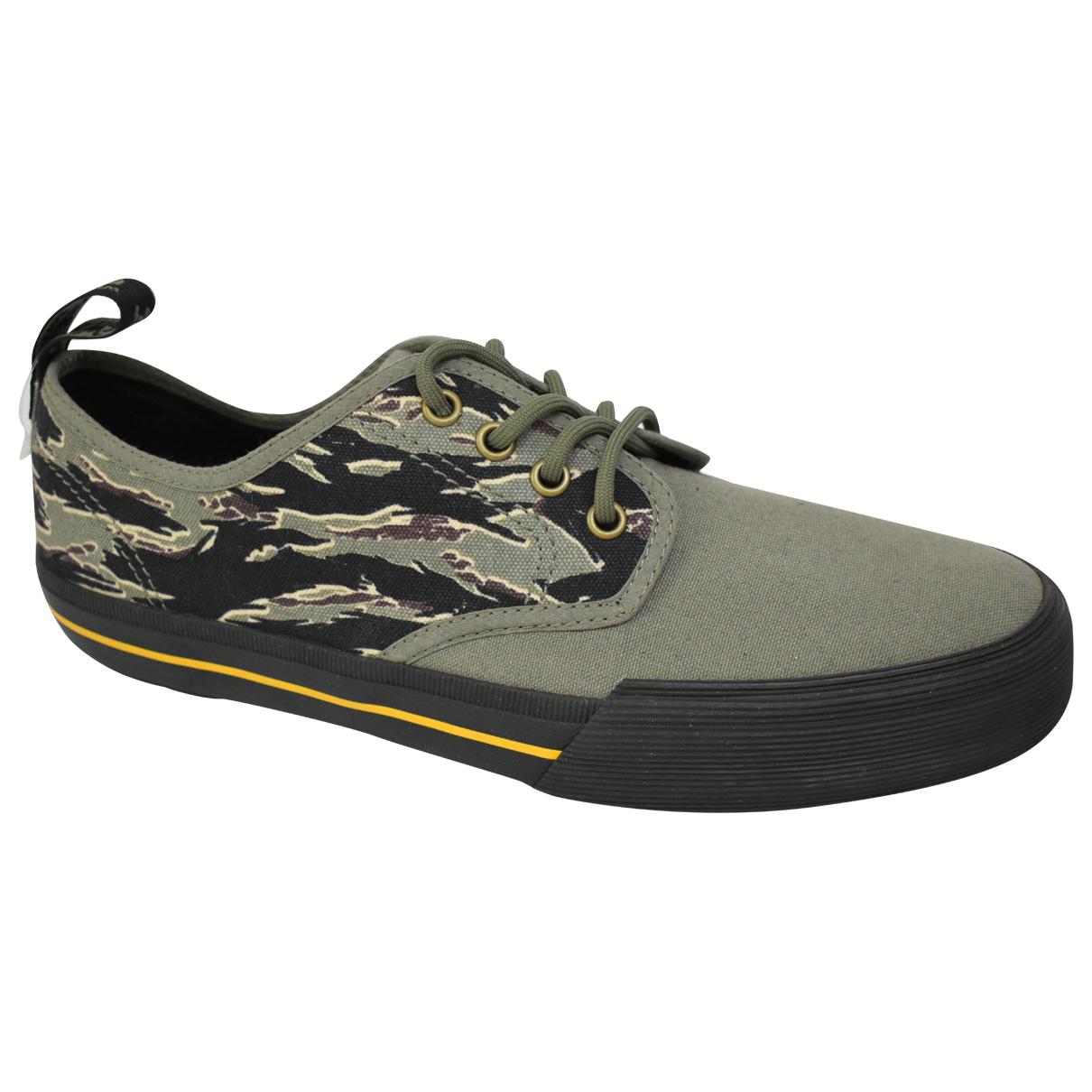 Dr. Martens \N Sneakers in  Khaki Leinen