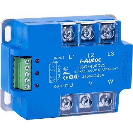 i-Autoc 40 A Solid State Relay, Zero Cross, Panel Mount, SCR, 530 V ac Maximum Load