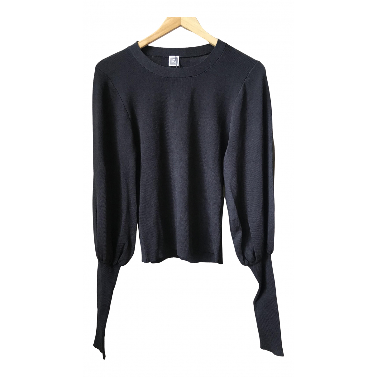 Toteme \N Pullover in  Schwarz Viskose