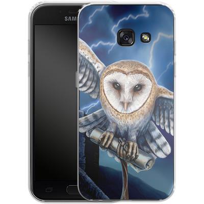 Samsung Galaxy A3 (2017) Silikon Handyhuelle - Heart of The Storm von Lisa Parker