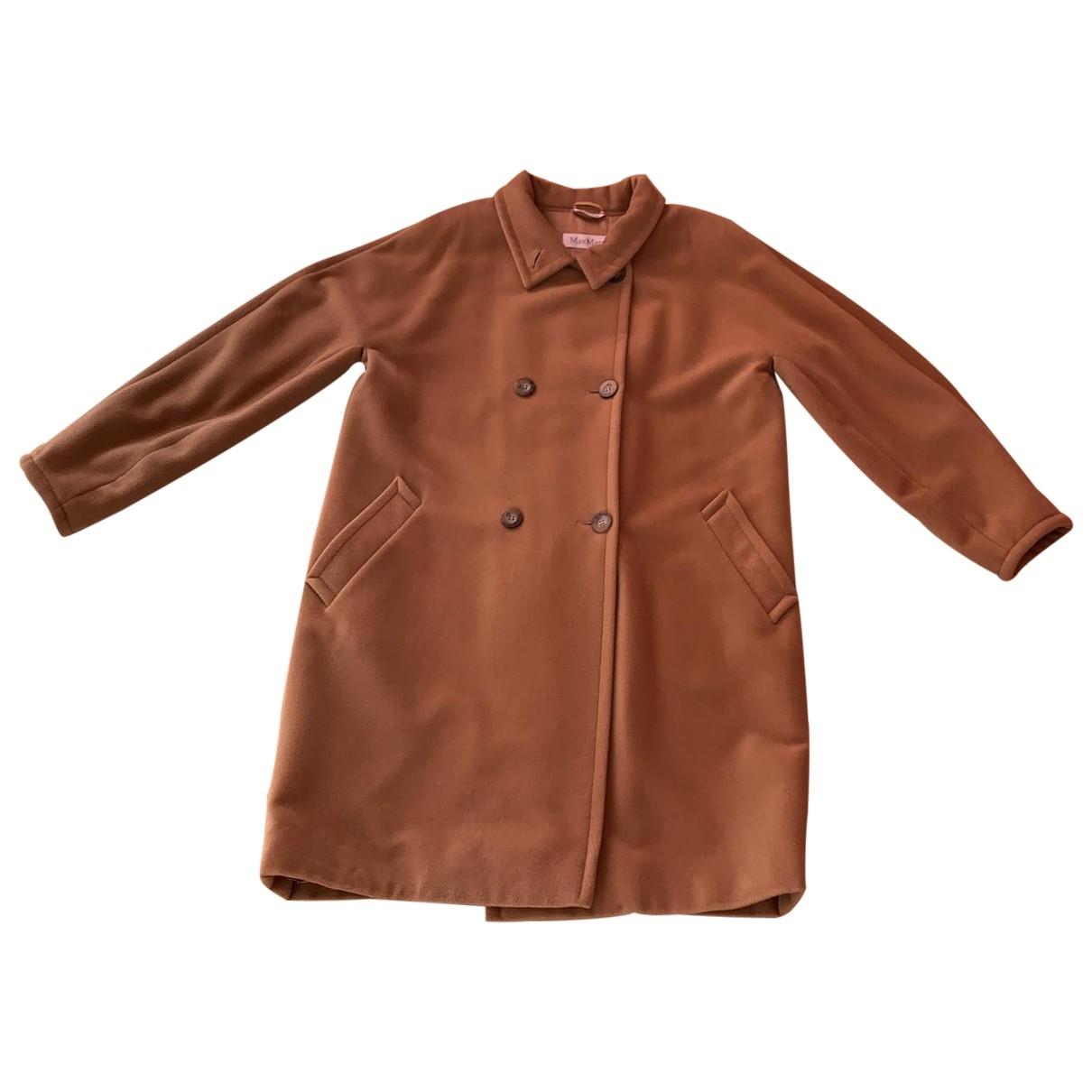 Max Mara \N Camel Wool coat for Women 44 IT